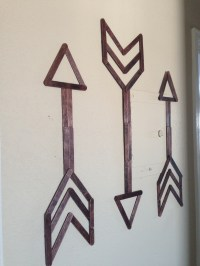 Popsicle Stick Wall Art