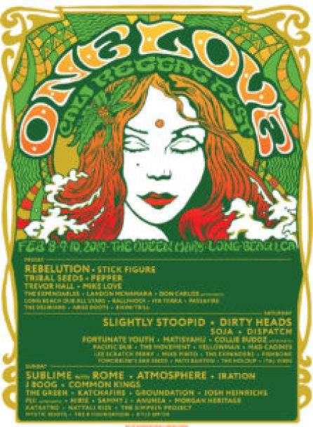 One Love Cali Reggae