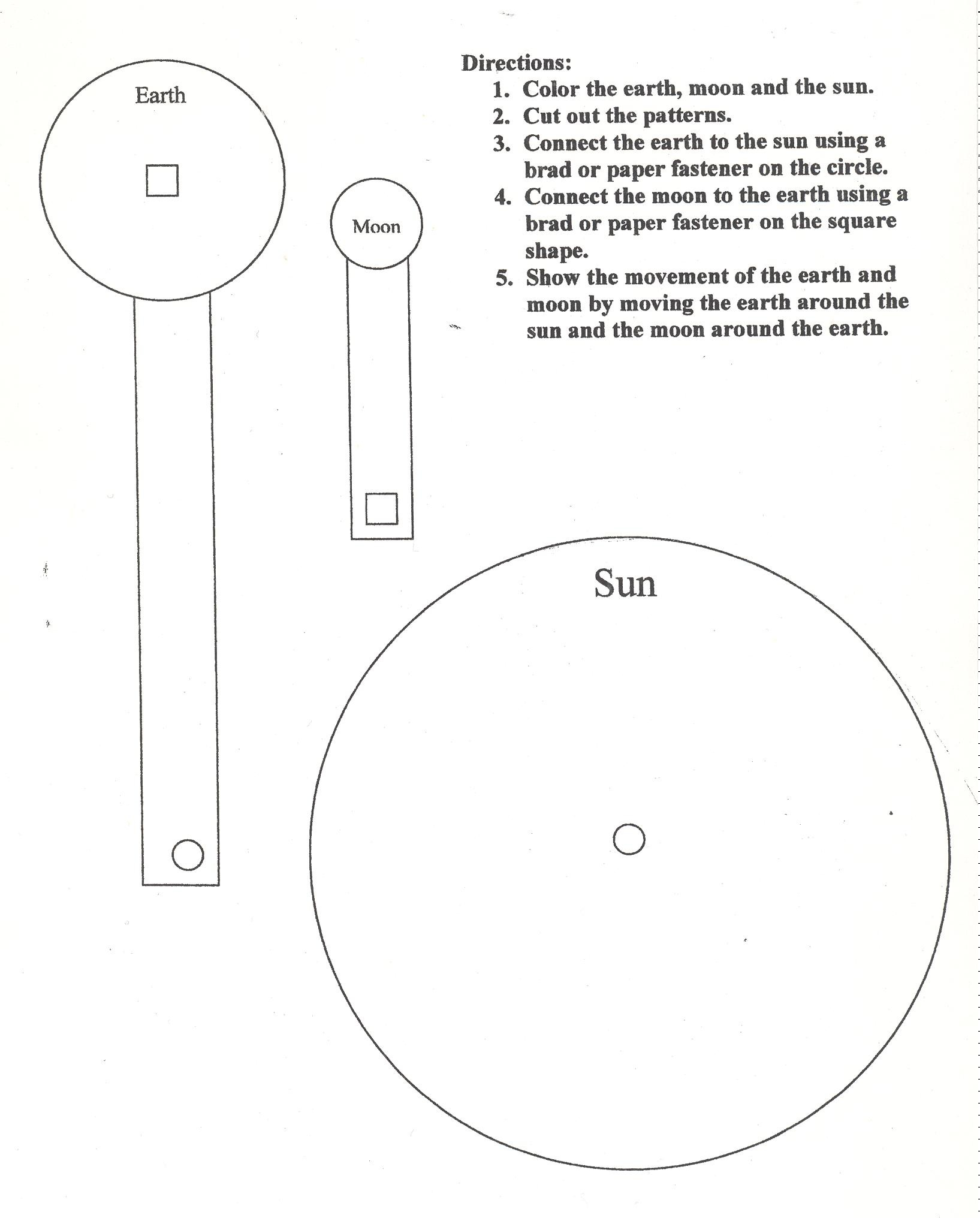 sun diagram worksheet 1996 nissan hardbody wiring planetary and solar system steam activities  f e s t