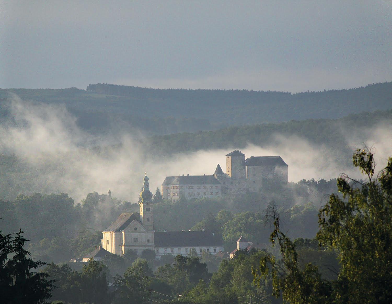 Lockenhaus Burg und Kirche