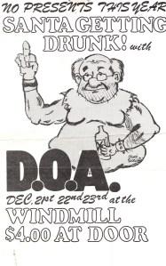 DOA poster