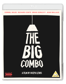 The Big Combo - Blu Ray cover