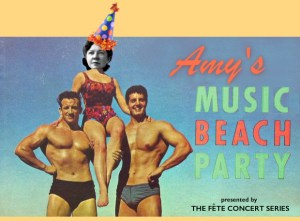 Amy's Music Beach Party