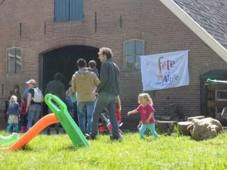 Open dag bij Boerderij de Zonnewijzer.