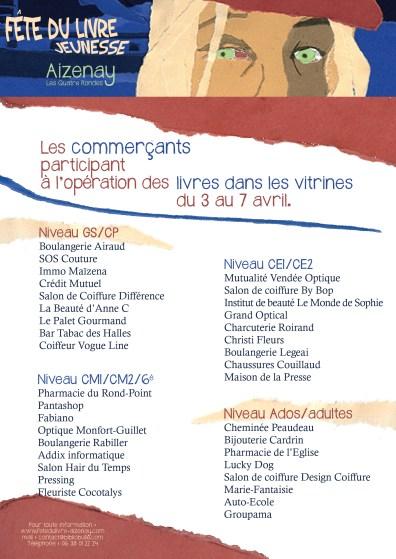 FDL2013-commerçants partenaires livres dans les vitrines