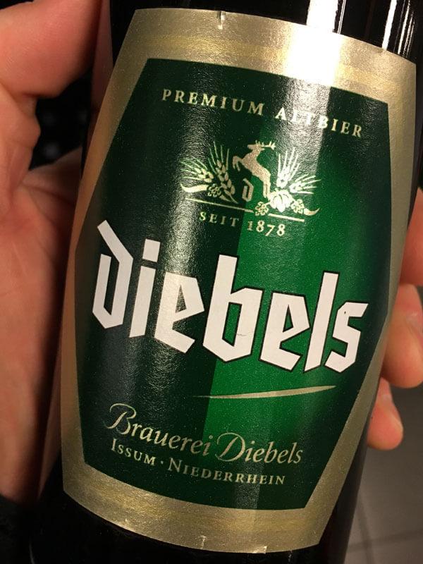 Diebels-Etikett