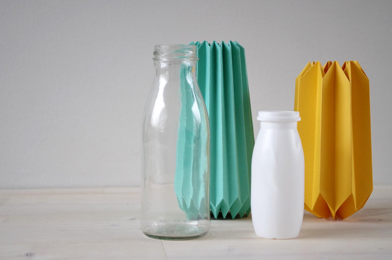 diy le cache pot en origami atelier f te unique. Black Bedroom Furniture Sets. Home Design Ideas