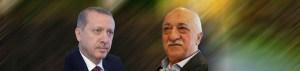Fethullah Gulen en de Turkse minister president Erdogan