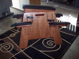 chestnut bondage bench