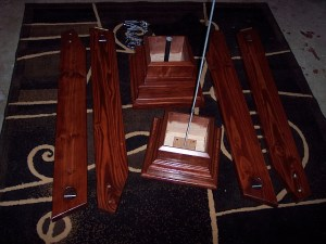 st andrews cross assembly