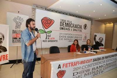 FOTOS DA 20ª CONFERÊNCIA ESTADUAL DOS BANCÁRIOS – DIA 27/05/2018