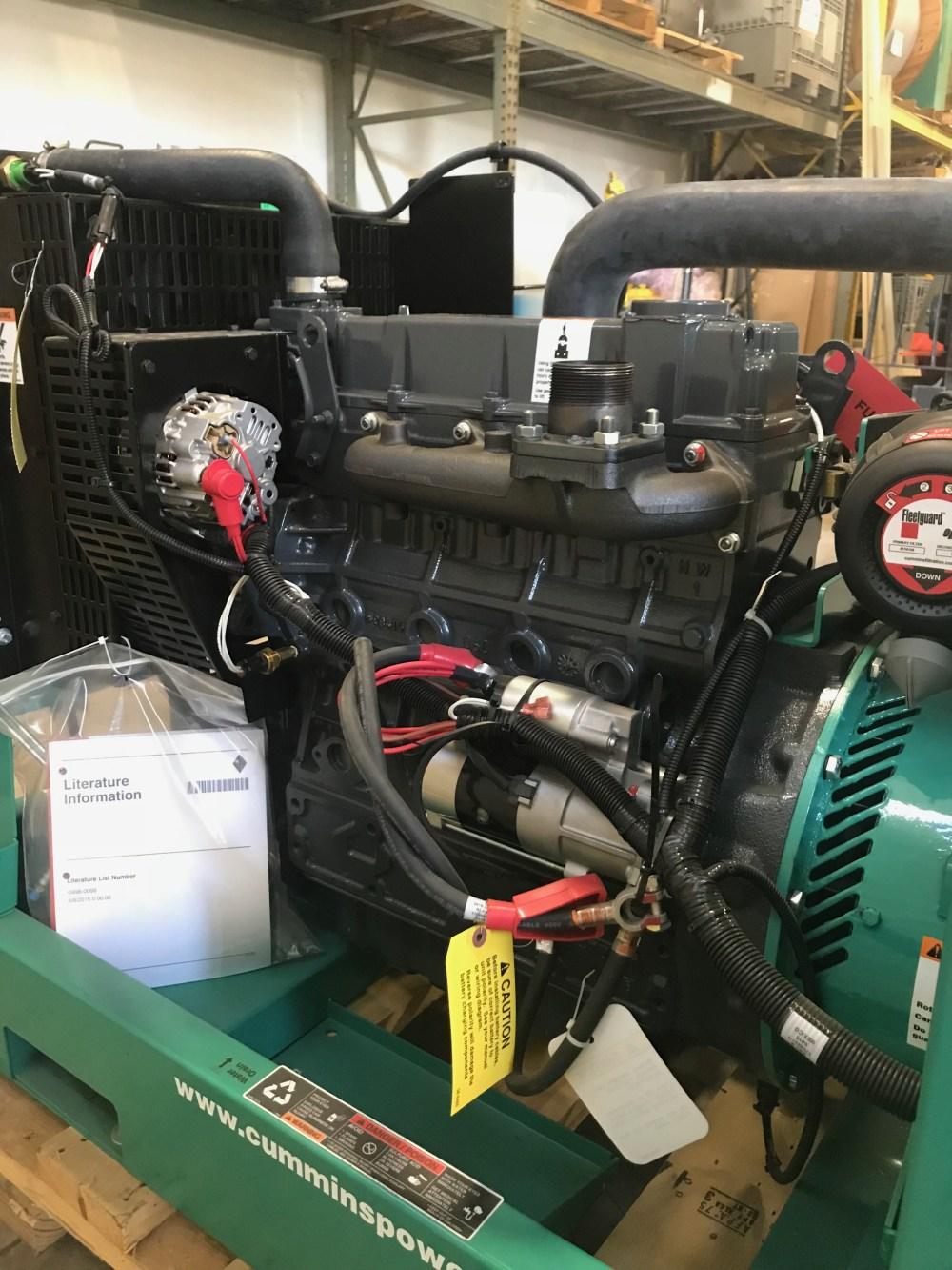 medium resolution of new 25kw cummins dskca generator