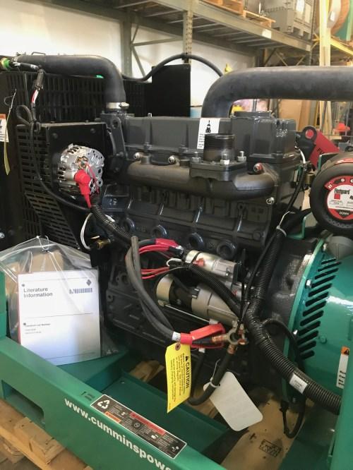 small resolution of new 25kw cummins dskca generator