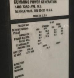new 30kw cummins generator [ 1742 x 3468 Pixel ]
