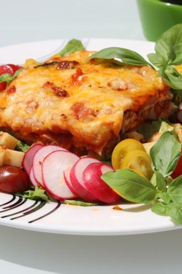 Lavkarbo Lasagne