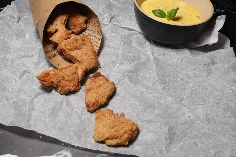 Kyllingnuggets (keto, glutenfri)