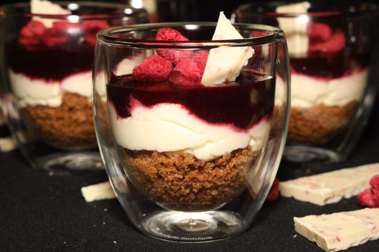 Ostekake i Glass (nøttefri, keto)