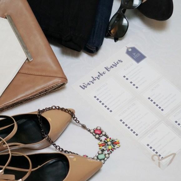 Fashion Basics im Kleiderschrank