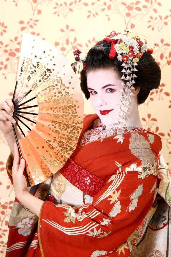 Aya Geisha Makeover - Nachher