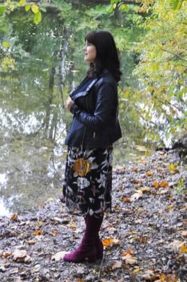 Herbsttrend Overknee Stiefel