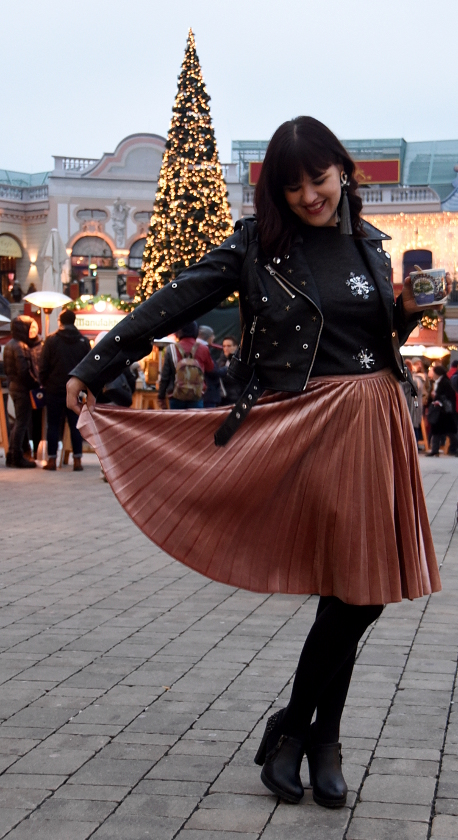 Weihnachtsfeier Outfit, Weihnachtsoutfit, Festive Look