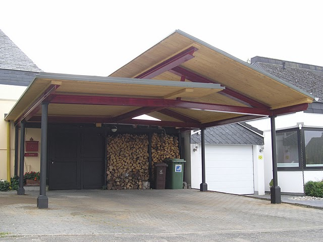 Carport Aus Stahlkonstruktion Carport Mit