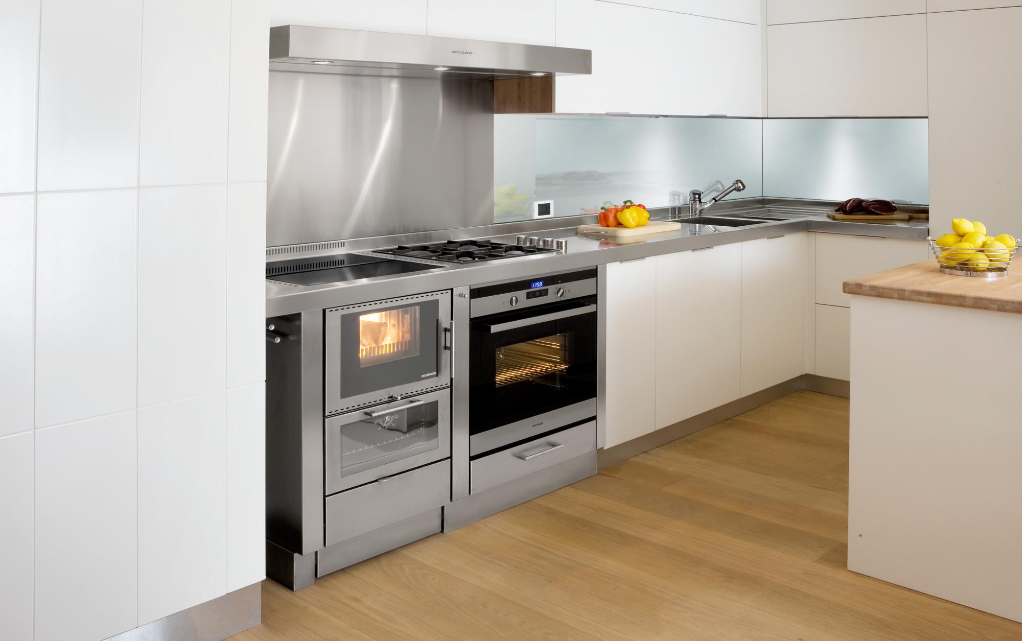 Küche Mit Holzherd Altholz Küche
