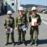Feuerwehrjugendleistungsabzeichen in Gold