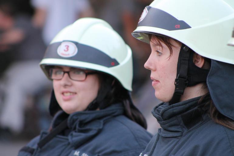 Feuerwehrfrauen bei der Freiwilligen Feuerwehr Heidelberg Altstadt