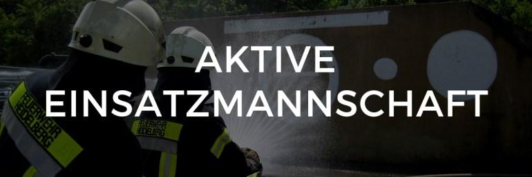 Feuerwehr Heidelberg Aktive Abteilung
