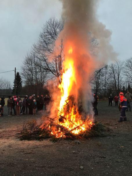 Neujahrsfeuer 2018