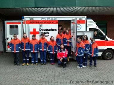 Besuch des RD Quakenbrück
