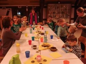 Weihnachtsfeier der Kids