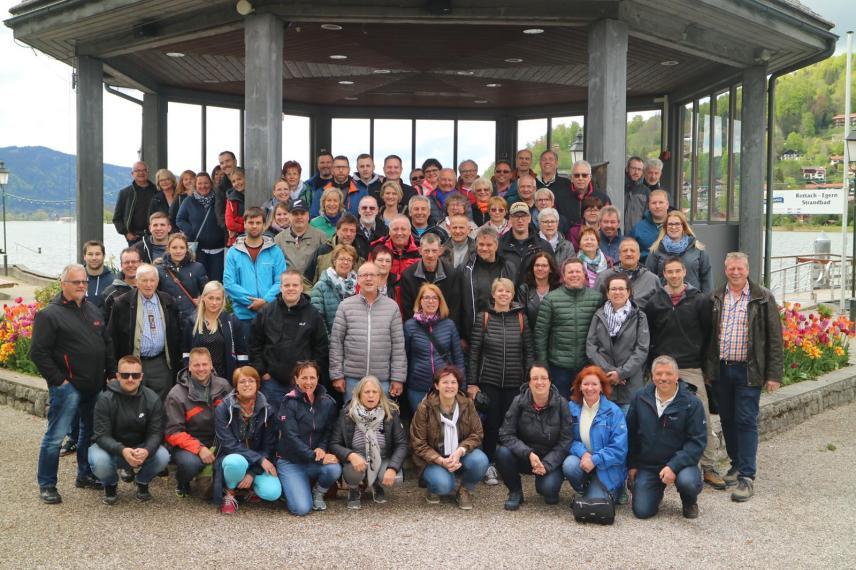 Gruppenfoto Ausflug München 2019