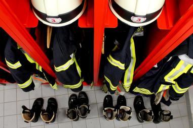 Ein Einblick ins Feuerwehrgerätehaus der Feuerwehr Altstadt