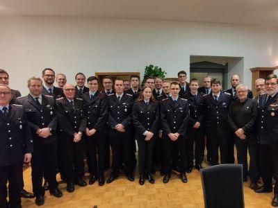 Jahreshauptversammlung der Ortsfeuerwehr