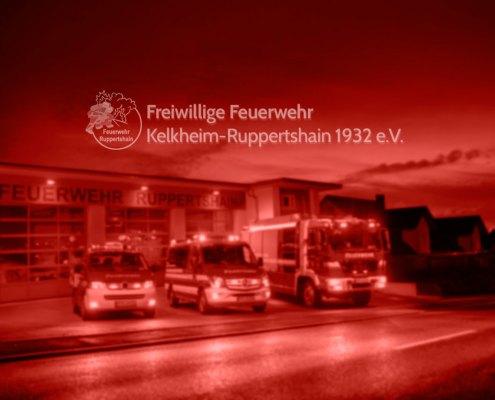 Feuerwehr Ruppertshain Gerätehaus + Logo