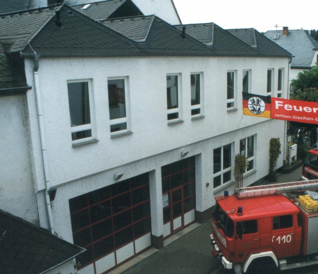 Gerätehaus des Löschzug Niederwerth an der Grundschule