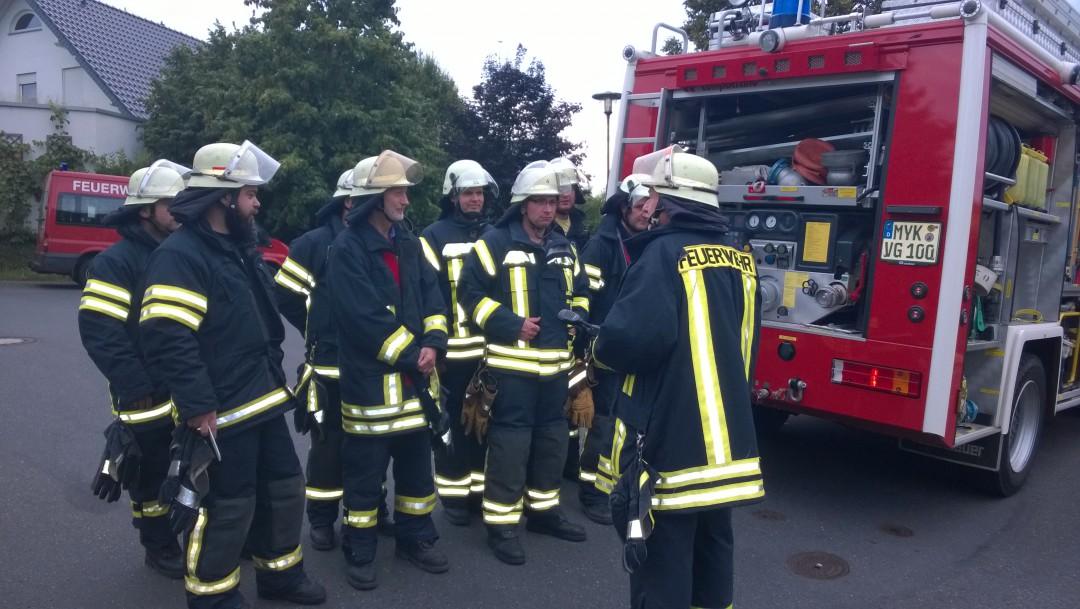 Brandschutzübung des Löschzuges urbar