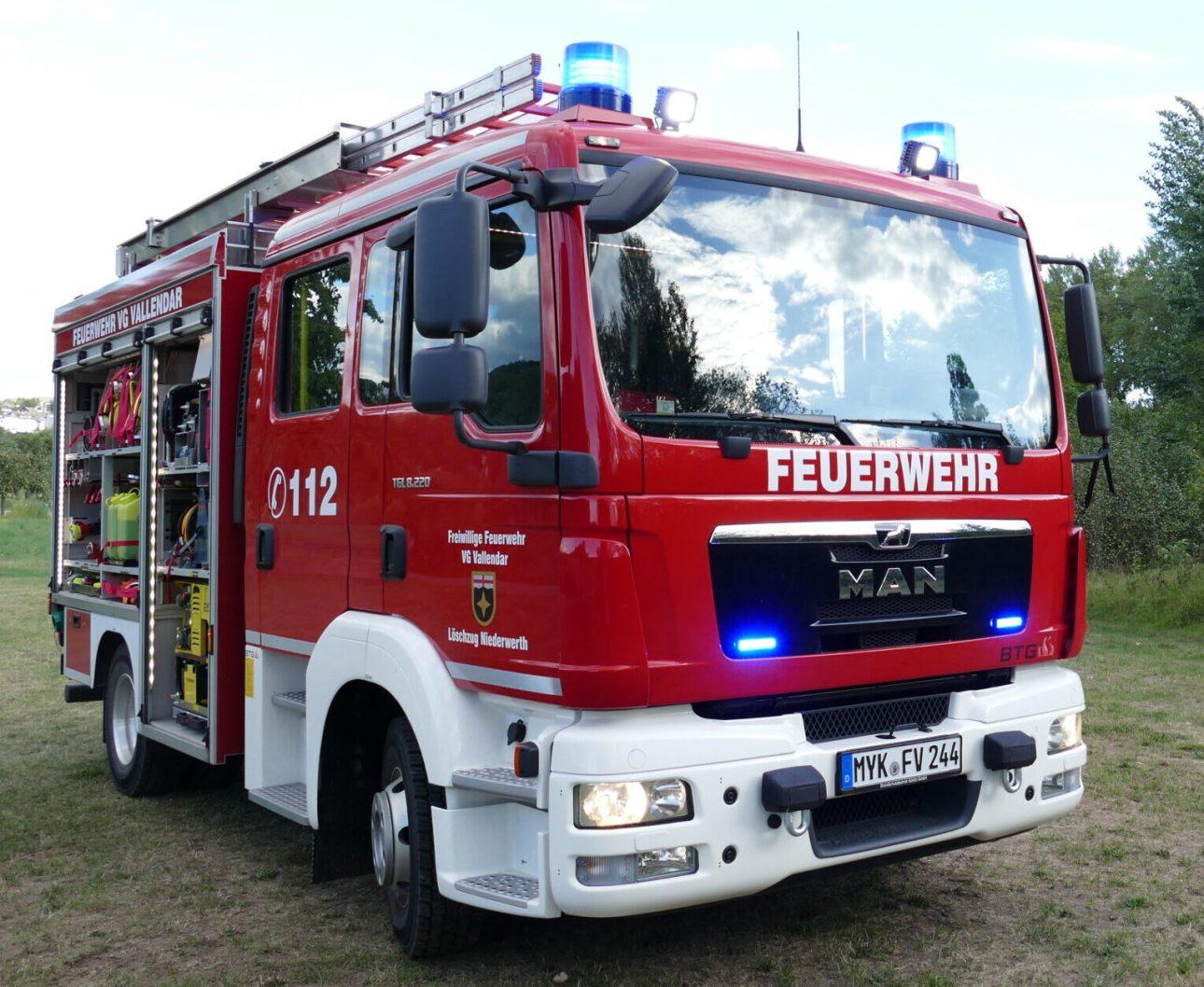 Einsatzfahrzeug MLF - LZ Niederwerth (Florian Vallendar 2/44-1)