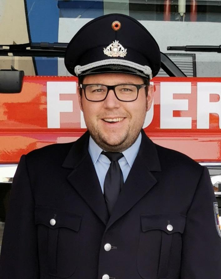 Andre Klöckner (stellvertretender Wehrführer des Löschzug Niederwerth der Freiwilligen Feuerwehr Verbandsgemeinde Vallendar)