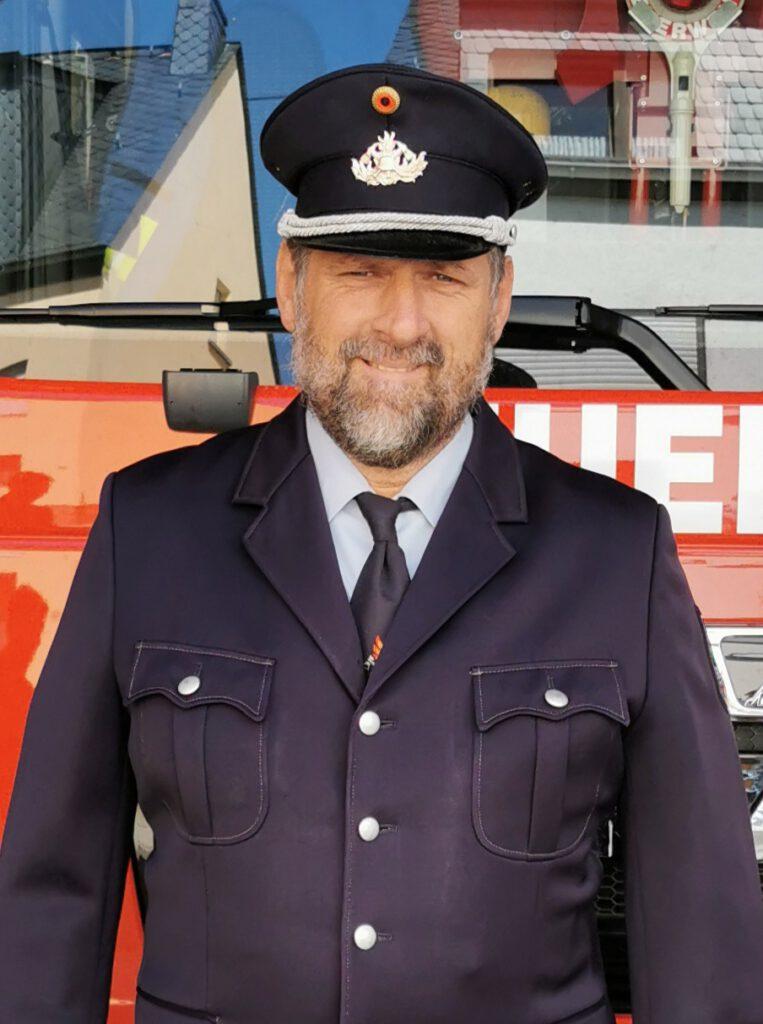 Dieter Stein (Wehrführer des Löschzug Niederwerth der Freiwilligen Feuerwehr Verbandsgemeinde Vallendar)