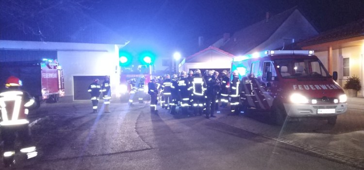Brandeinsatz (B3) in Neumarkt/Ybbs