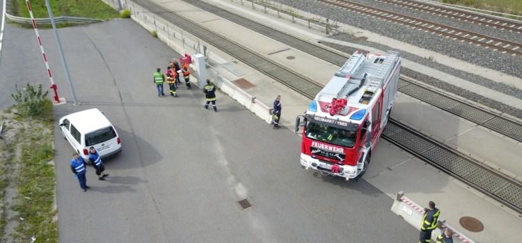 ÖBB Abschnittsübung im Burgstallertunnel