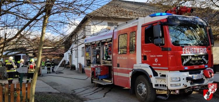 Brandeinsatz in Köchling