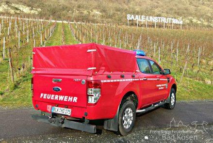 Hochdrucklöschfahrzeug der Feuerwehr BAd Kösen