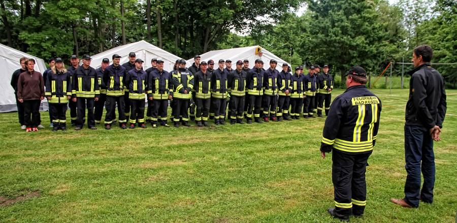 Feuerwehr Bad Kösen, FF BAd Kösen, Ausbildung, Zeltlager, Ausbildungszeltlager,
