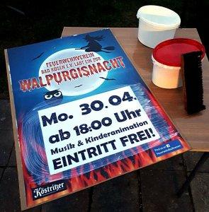 Feuerwehrverein Bad Kösen Walpurgisnacht