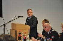 Oberbürgermeister Neupold hält seine Rede