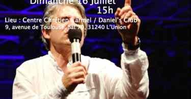dimanche 16 juillet / culte spÉcial avec l'ÉvangÉliste remy bayle